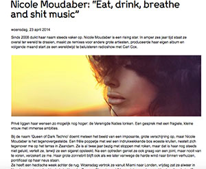 interview nicole moudaber marcelineke - Interview DJ/producer Nicole Moudaber