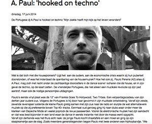 interview A.Paul marcelineke 300x246 - DJ/producer A.Paul: 'Hooked on techno'