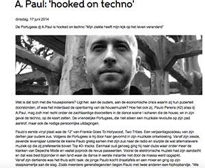 interview A.Paul marcelineke - DJ/producer A.Paul: 'Hooked on techno'