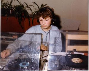 DJ Jerome Outland 13 years of age and already behind the spinning wheels