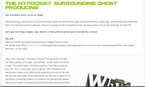 Blog hypocrisy surrounding ghost producing 300x181 - Blog: the hypocrisy surrounding ghost producing