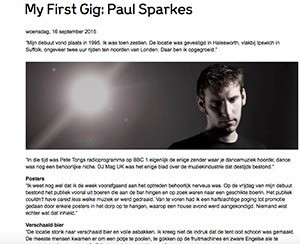 Paul Sparkes marcelineke - Paul Sparkes