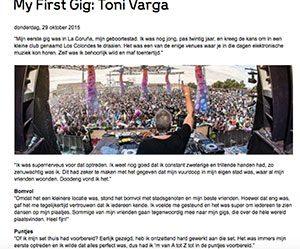 my first gig toni varga 300x249 - Toni Varga