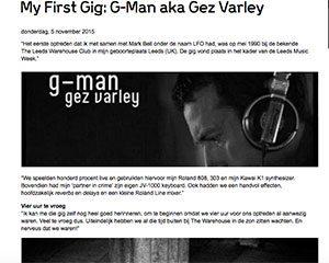 first gig G man marcelineke 300x240 - My First Gig: DJ G-Man aka Gez Varley