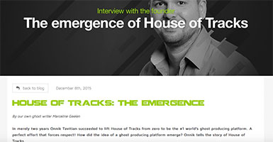 house of tracks the emergence blog marcelineke - Blog House of Tracks: The Emergence