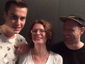 Met Marnix en Kevin van Monoline Nijmegen