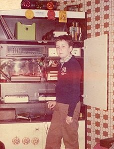 DJ Henri kicken als kind