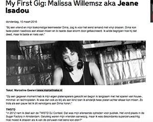 malissa scherm marcelineke - My First Gig Jeane Isadou