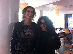 DJ/producer Nicole Moudaber and Marceline