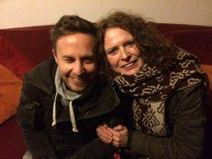 tom hades and marceline in her home 2 300x225 - MWoT: Wim Vanoeveren aka DJ/producer Tom Hades (Belgium)