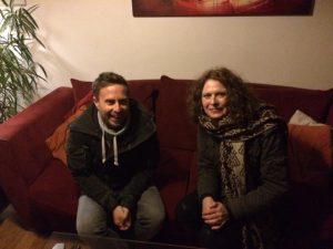 tom hades and marceline in her home1 300x225 - MWoT: Wim Vanoeveren aka DJ/producer Tom Hades (Belgium)