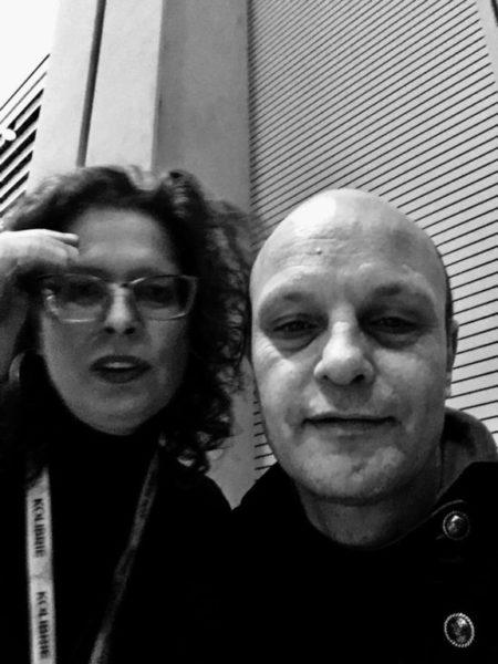 Horecava 2017: Selfie made by DJ Misja Xample with Marceline