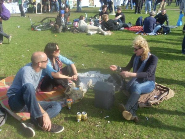 kiki cannabis festival 1 - MMM: DJ Kiki Tao (NL) - Nowadays also known as Shaman
