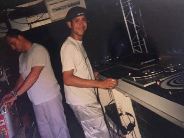 DJ Ruff as a teenager