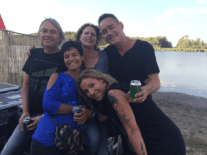 2018: The Promised Land: Dano, Quazar, Marceline, Wieteke and Simone