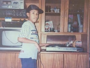 Raphael Lopez from Afrozoid as a kid