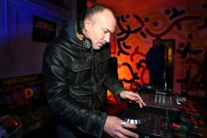 Picture from 2014: DJ Jerome Krom is still going strong!
