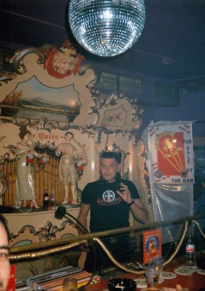 DJ Edgarito during his first gig