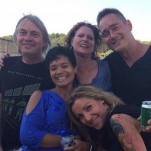 Wooferland 2017: Marcy with Quazar, Dano and friends