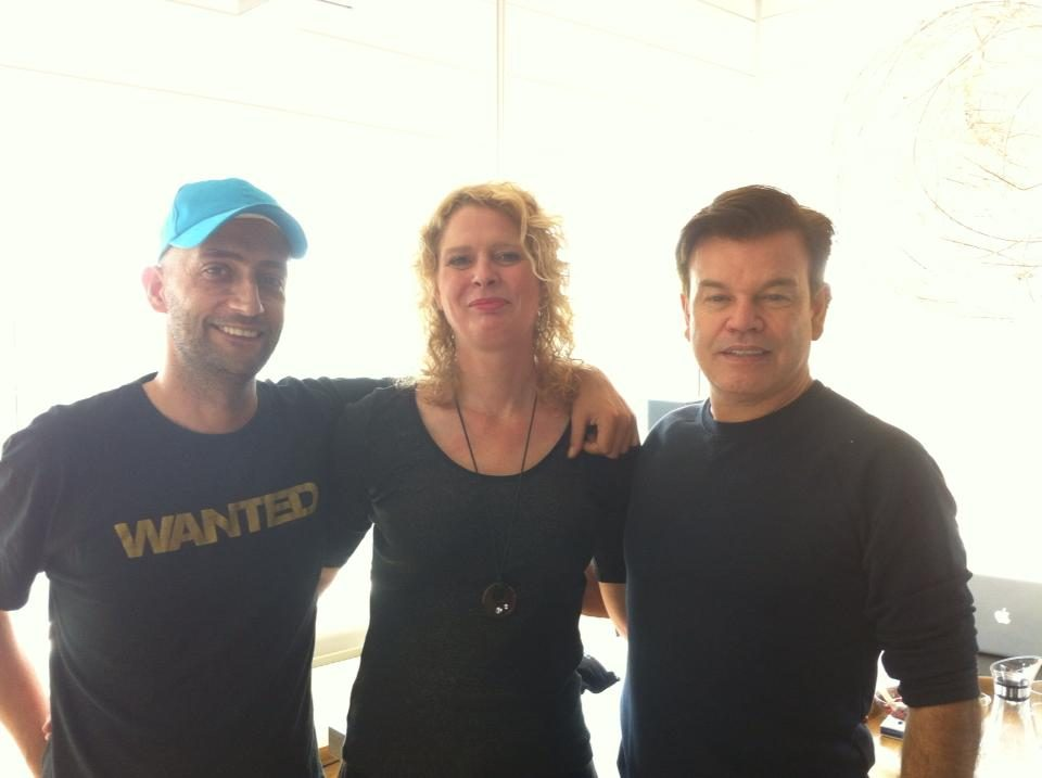 July 29th 2013 When Marcy met house legend Paul Oakenfold