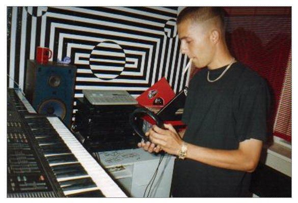 DJ Brent Spar at his debut
