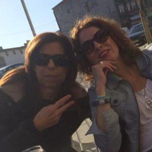 Ninna V en Marceline Porto oktober 2016