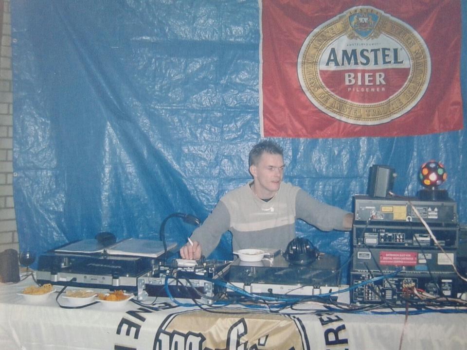 """SB schuurfeest 1998 - Sander Bottaio (NL): """"I still prefer vinyl"""""""