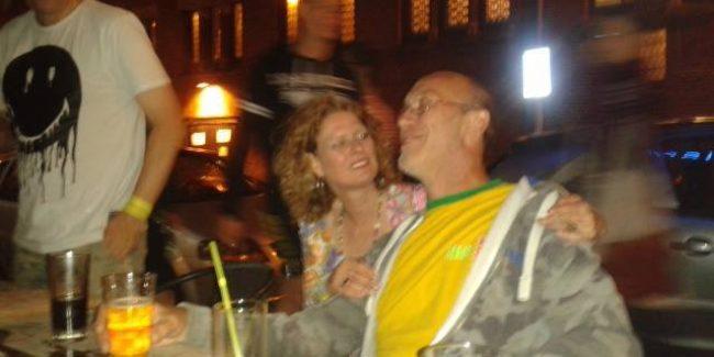 DJ Monde and Marceline at Frisco Inn Amsterdam