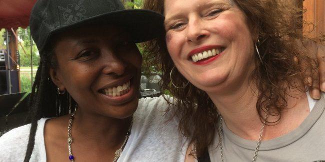 Natarcia and Marceline Thuishaven July 2017