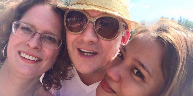 Dennis Price, Marceline and Rose August 3d 2015