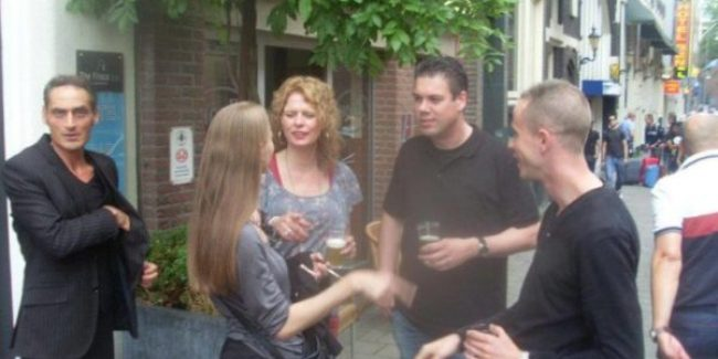 Dj Vortex and Marceline at Frisco Inn