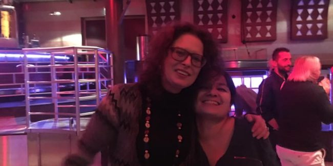 Kiki Toao and Marceline in 2019