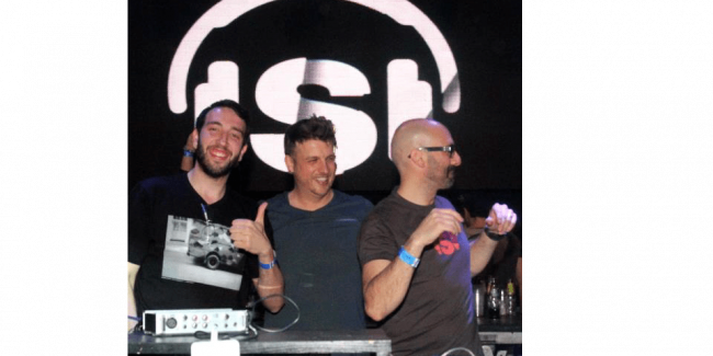 Rafa Barrios with Chus and Ceballos