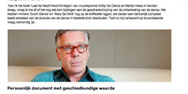 Review Book Eddy DeClercq
